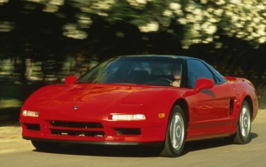1996 Acura NSX exterior