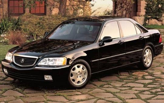 1996 Acura RL exterior