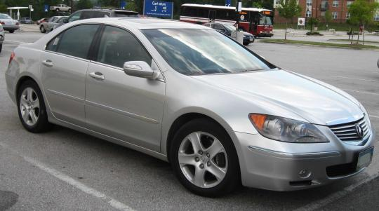 2005 Acura RL Photo 1