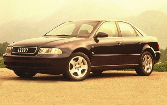 1996 Audi A4 exterior