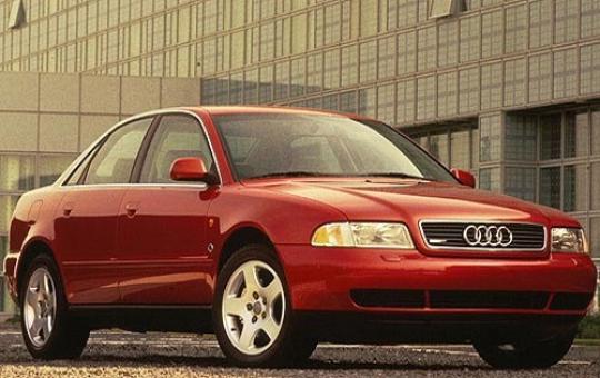 1997 Audi A4 exterior