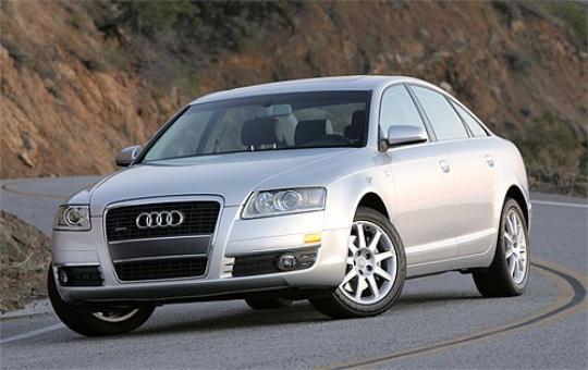 2005 Audi A6 exterior