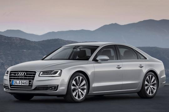 2015 Audi A8 exterior