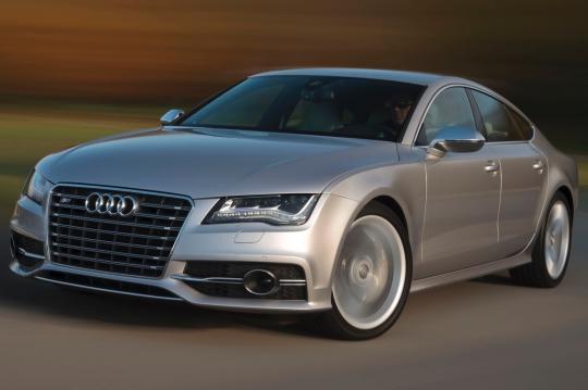 2013 Audi S7 exterior