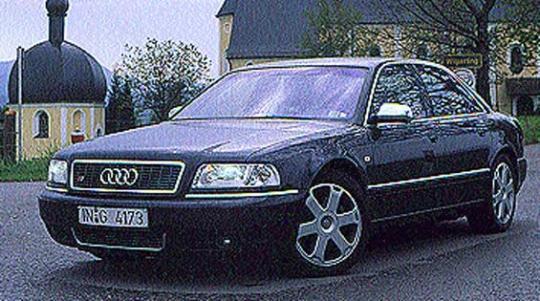 2001 Audi S8 Photo 1