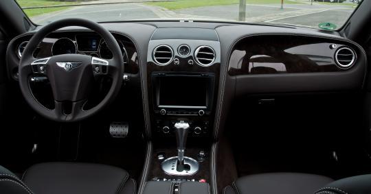 2012 Bentley Continental Flying Spur VIN SCBBR9ZA9CC