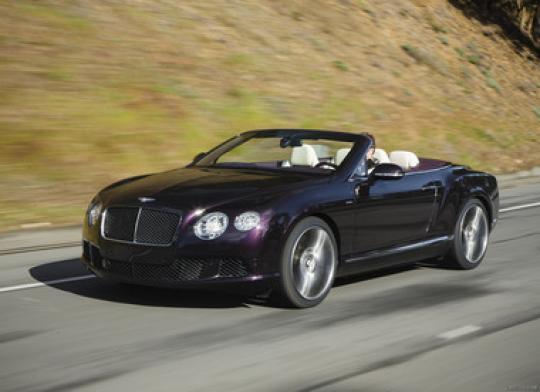 2014 Bentley Continental GT Speed Convertible - VIN ...