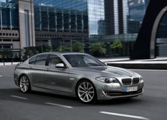 2012 BMW 5-Series Photo 1
