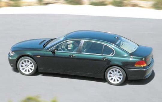 2004 BMW 7-Series exterior