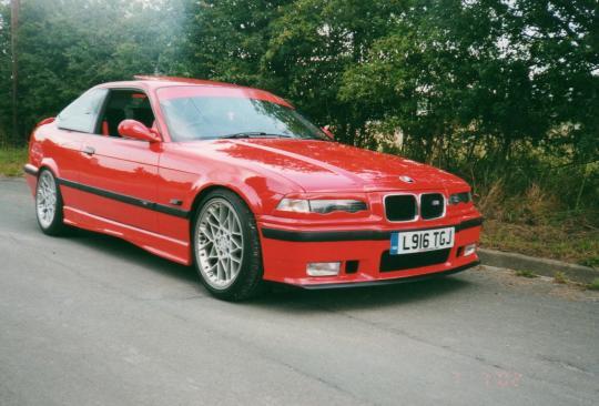 1996 Bmw M3 - Vin  Wbsbg9320tey73589