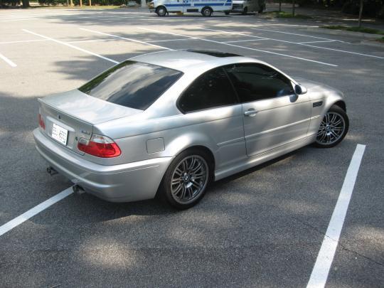 2001 BMW M3 - VIN: WBSBL93411jr10165 - AutoDetective.com