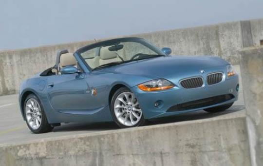 2003 BMW Z4 exterior