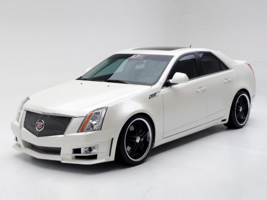 2008 Cadillac CTS 3 6L SIDI with Navigation