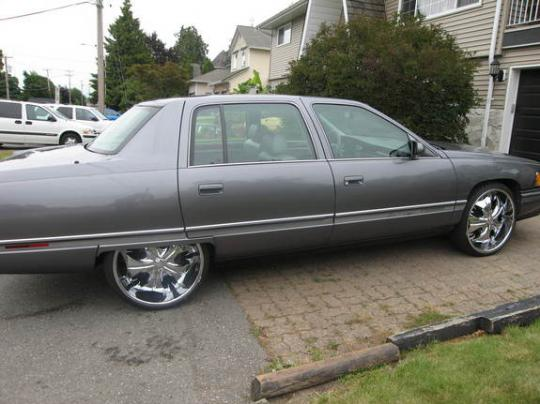 1994 Cadillac Deville Vin 1g6kd52b6ru310574