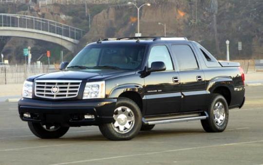 2002 Cadillac Escalade EXT exterior