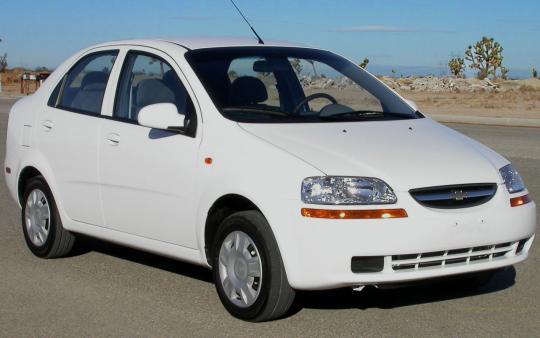 2004 Chevrolet Aveo Base Sedan Specs And Vin Numbers Autodetective