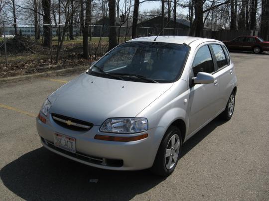 2006 Chevrolet Aveo Ls Sedan Specs And Vin Numbers Autodetective