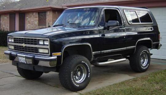 1991 Chevrolet Blazer - VIN: 1GNEV18K2MF147143 ...