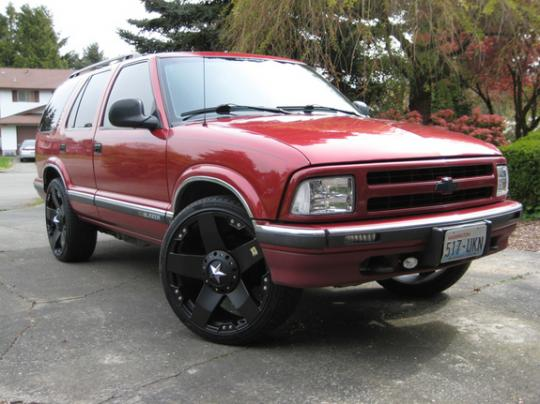 1997 chevrolet blazer vin 1gndt13w8v2159883. Black Bedroom Furniture Sets. Home Design Ideas