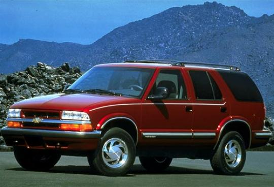 1998 Chevrolet Blazer 2 Door 2wd Photo 1