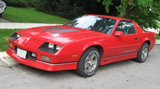 1990 Chevrolet Camaro Photo 1