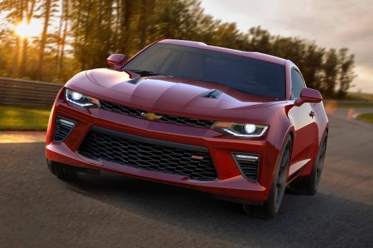 2018 Chevrolet Camaro exterior