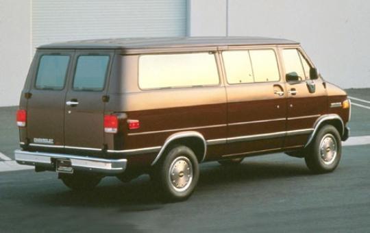 1991 Chevrolet Chevy Van - VIN: 1GCGG35K1M7130792 ...
