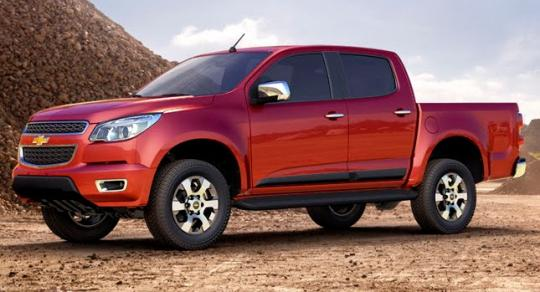 2012 Chevrolet Colorado Photo 1