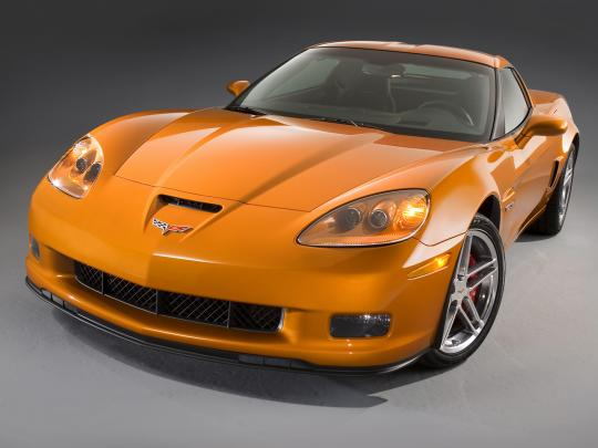 2007 Chevrolet Corvette Coupe LT1 Photo 1