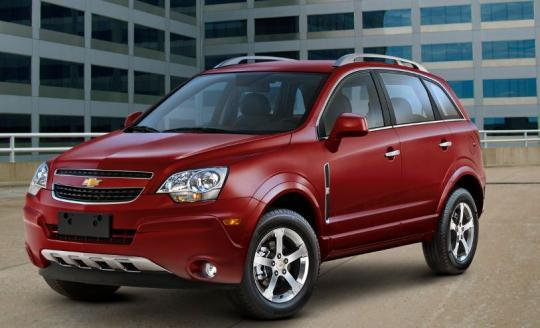 2012 Chevrolet Equinox Photo 1