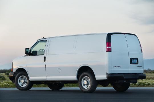 2015 Chevrolet Express Cargo - VIN: 1GCWGFFF2F1102858 - AutoDetective.com