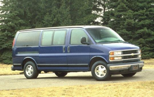 1996 Chevrolet Express exterior
