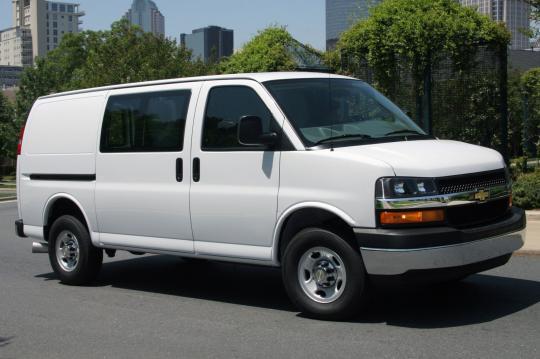 2016 Chevrolet Express exterior