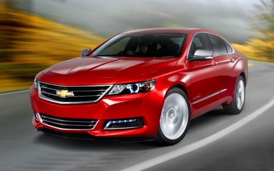 2016 Chevrolet Impala Photo 1