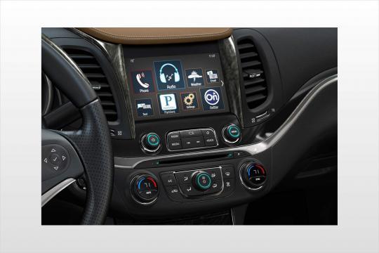 2018 Chevrolet Impala interior