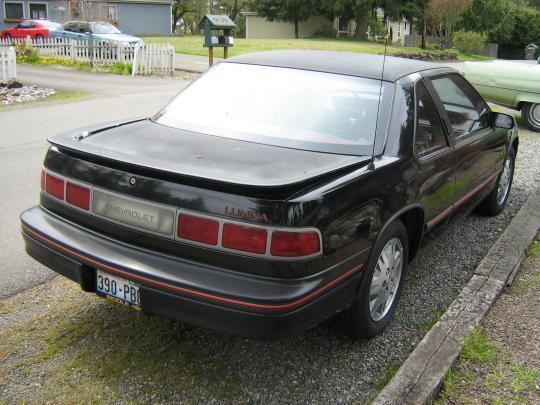 1990 Chevrolet Lumina Vin 2g1wl54t7l1156878