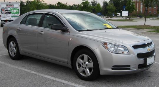 2008 Chevrolet Malibu Photo 1