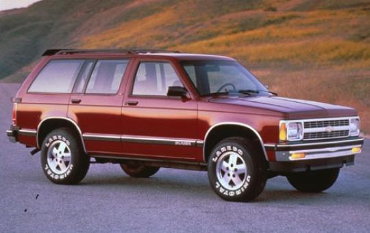 1992 Chevy S10 Blazer Service Manual