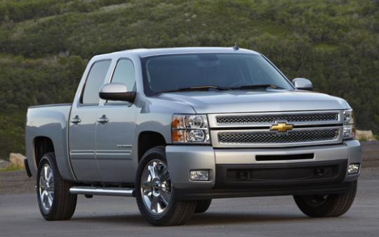 2012 Chevrolet Silverado 1500 Photo 1