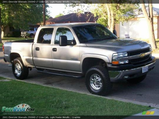 2001 Chevrolet Silverado 2500HD Photo 1