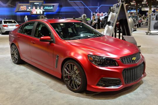 2015 Chevrolet SS - VIN: 6G3F15RW1FL123490 - AutoDetective.com