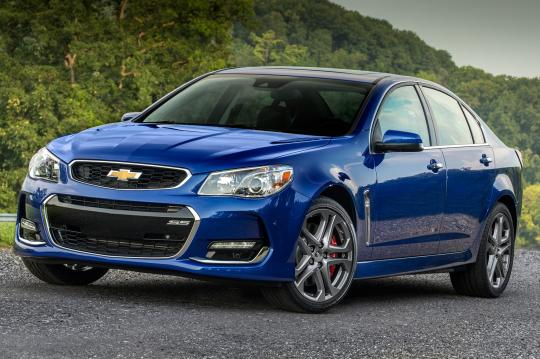 2016 Chevrolet SS exterior