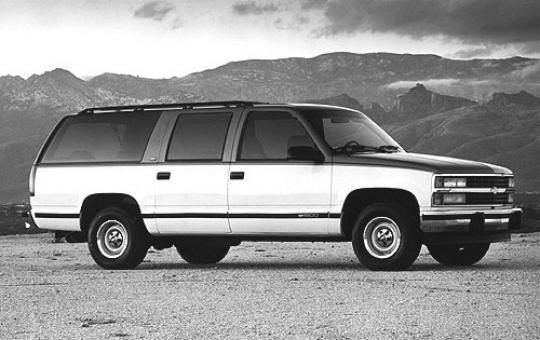 1993 Chevrolet Suburban Vin 1gnfk16k3pj304986