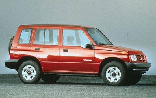 1998 Chevrolet Tracker exterior