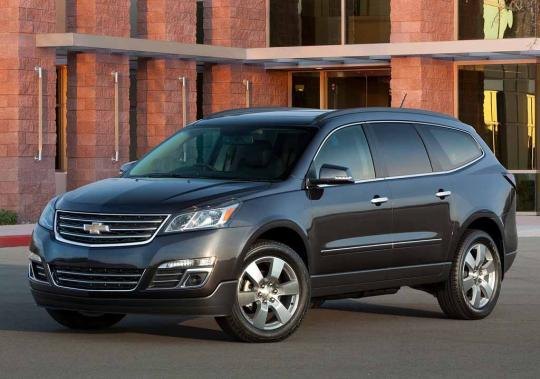 2016 Chevrolet Traverse Photo 1