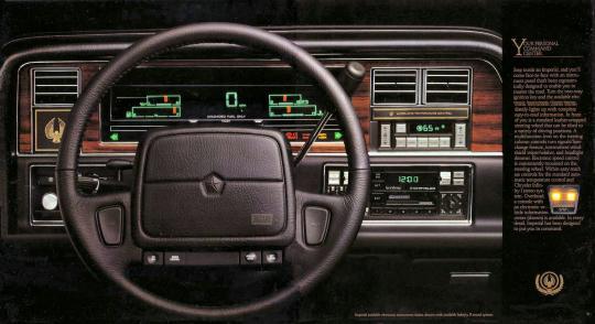 1990 Chrysler Imperial Vin 1c3xy56r7ld779103