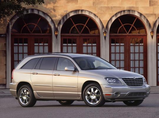 2005 Chrysler Pacifica Vin 2c8gf68495r434078