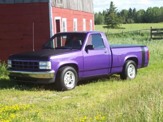 on 1994 Dodge Dakota 2wd