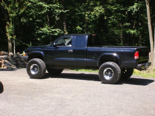 on 1994 Dodge Dakota 2wd