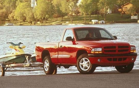 on 2000 Dodge Dakota King Cab